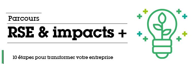 Parcours RSE et IMPACT +